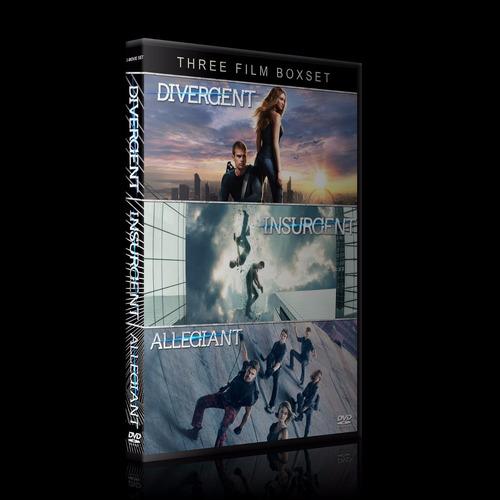 divergente coleccion en dvd
