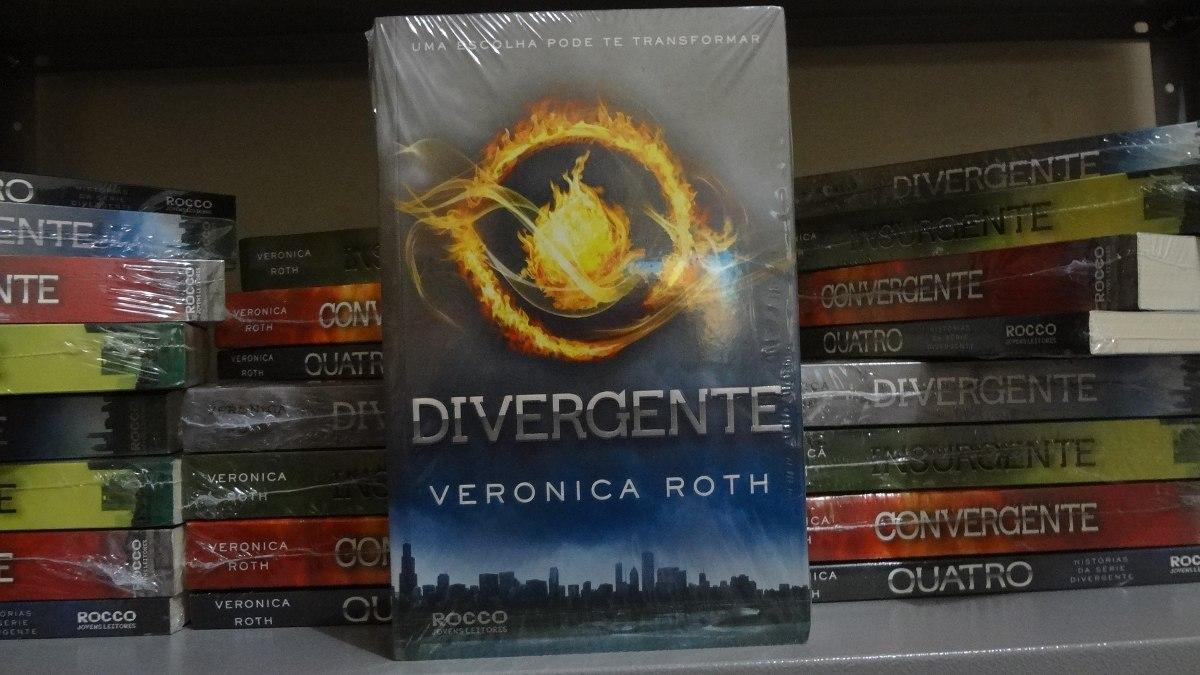 Divergente + Insurgente + Convergente + Quatro ( 4 Livros