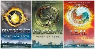divergente libros 1, 2 y 3