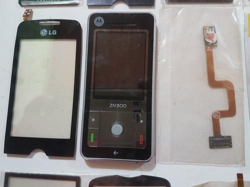 diversas peças para celular novas e usadas lote n6  leia ...