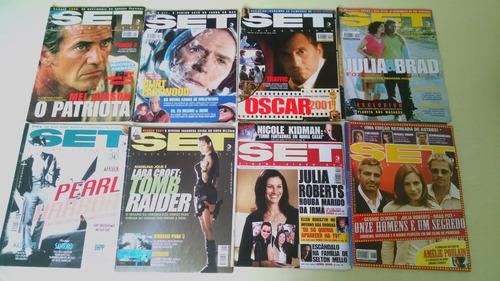diversas revistas set (ver descrição)