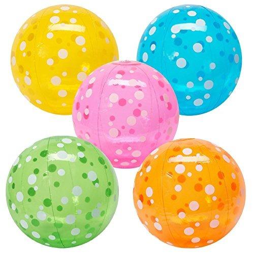 diversión inflable expresos polka-dot las pelotas de playa