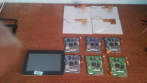 diversos tablet phaser kinno pc709, placas mães, touch, peça