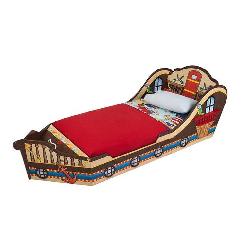 divertida cama en forma bote para niño kidkraft boat toddler