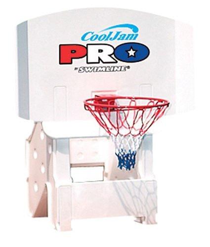 divertida canasta de basketball para alberca cool jam