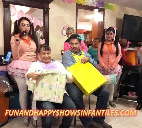 divertidas animaciones para tu baby shower