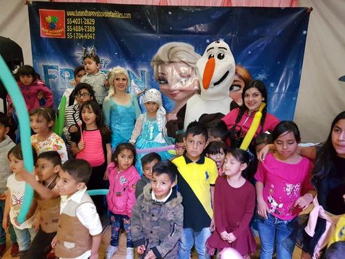 divertido show infantil de frozen