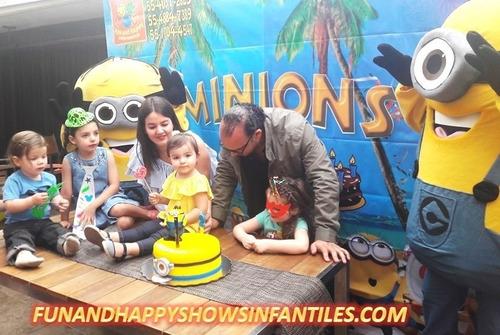 divertido show infantil de minions