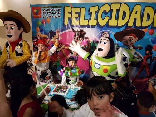 divertido y dinamico show de toystory!! cdmx y edomex