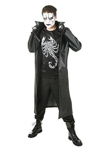divertidos disfraces para hombre wwe sting traje x-grande