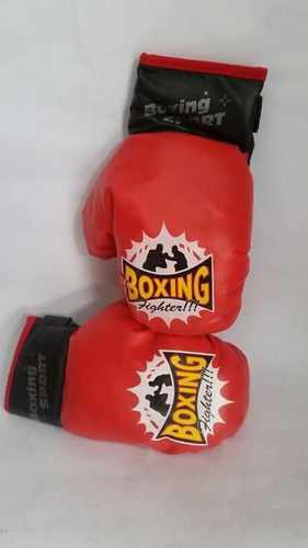 divertidos guantes de boxeo infantiles estilo clasico