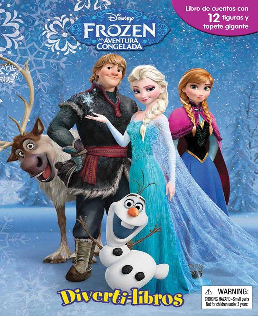 Bonito Disney Congelado Para Colorear Libros Bandera - Enmarcado ...