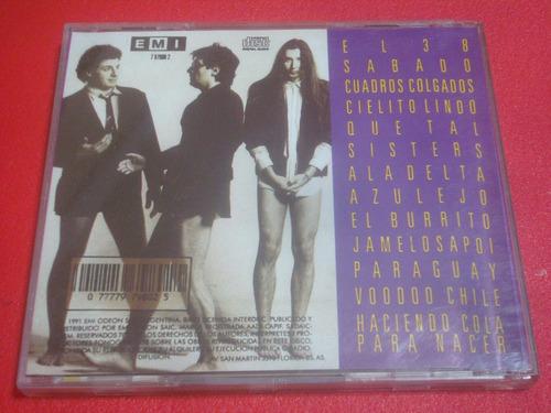 divididos - acariciando lo aspero (cd excelente) canada