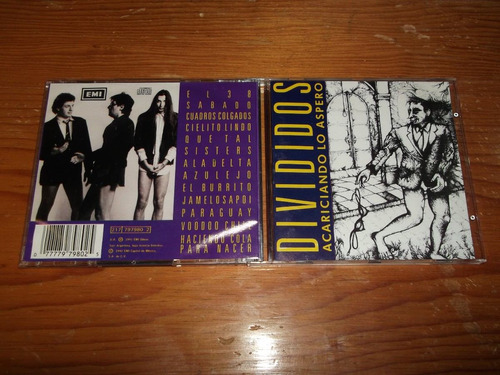 divididos - acariciando lo aspero cd nac ed 1992 mdisk