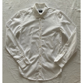 Divina Camisa Blanca Manga Larga. Hombre. Italiana. Talle 39