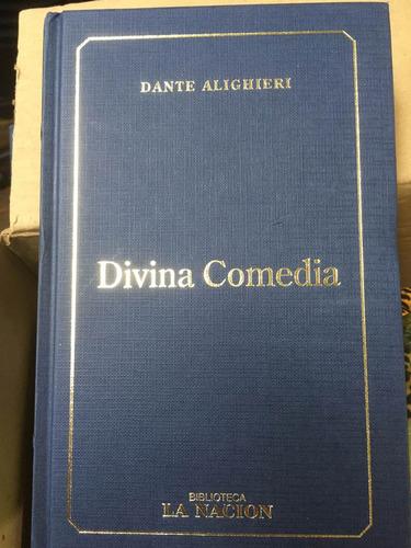 divina comedia - dante alighieri - nuevo - tapa dura