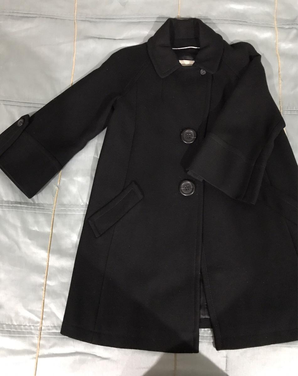 venta minorista 22fe9 a9f41 Divino Abrigo Negro Lana 100% Gerard Darel - $ 2,000.00