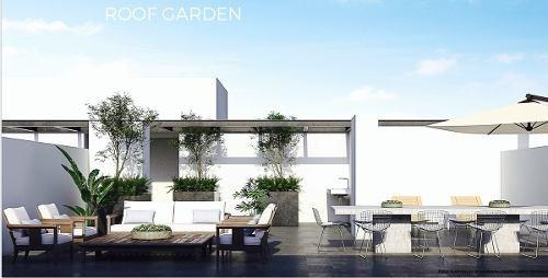 divino departamento con roof garden privado en portales sur
