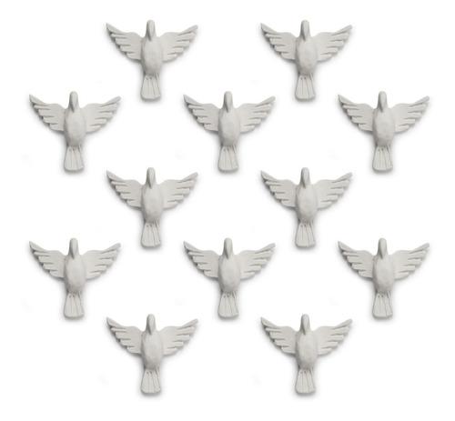 divino espírito santo aplique resina 5 cm kit c/ 50 - nº 02