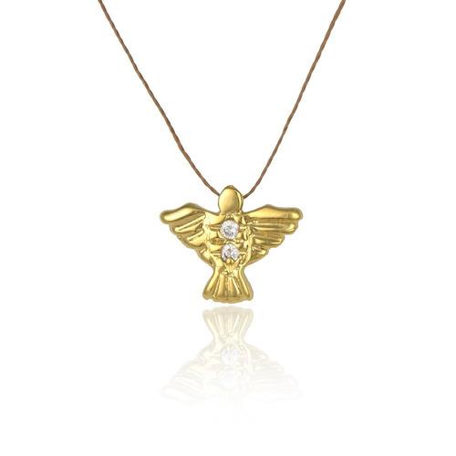 divino espirito santo banhado a ouro