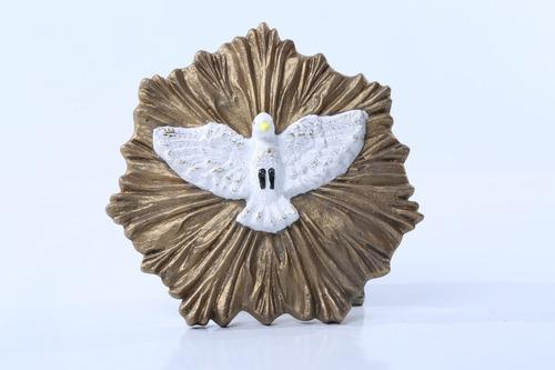 divino espirito santo em gesso/religião/católica/decoração