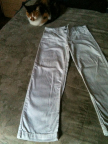 divino jean para nenes color blanco talle 10 mimo & co