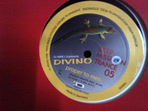 divino - proper to men vinyl musica electronica