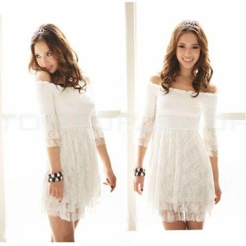 Sueрів±o con vestido blanco