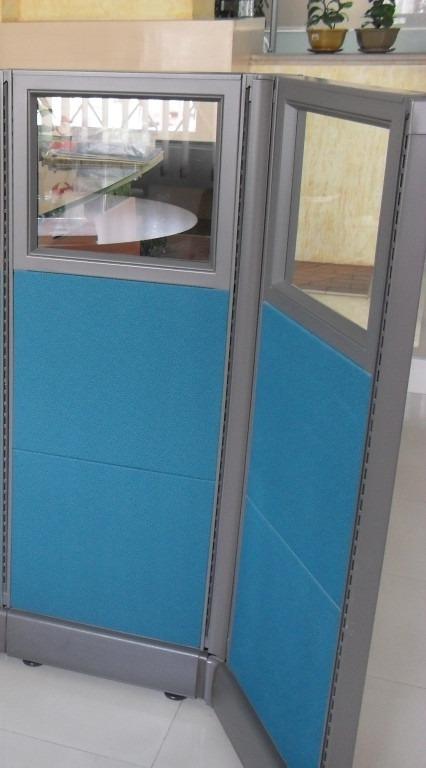 Division Oficina Abierta Estructura Metalica 0.95 M Mueble ...