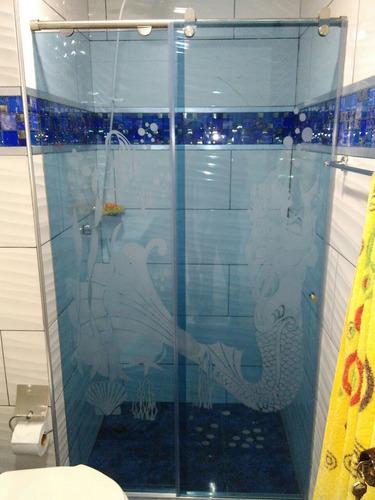 ¿¿¿¿divisiones de baño en vidrio templado