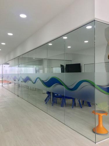 divisiones oficina en vidrio 3156083897