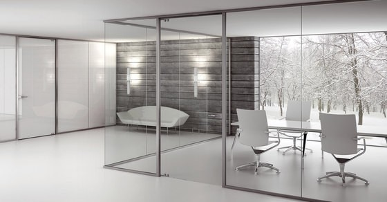 Divisiones para oficina divisi n tipo a en aluminio m2 for Divisiones de oficina