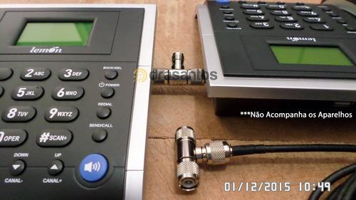 divisor 2 aparelhos celular modem antena rural externa