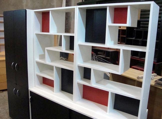 Divisor Ambiente Biblioteca Monoambientes Baulera Y Placard  $ 15500