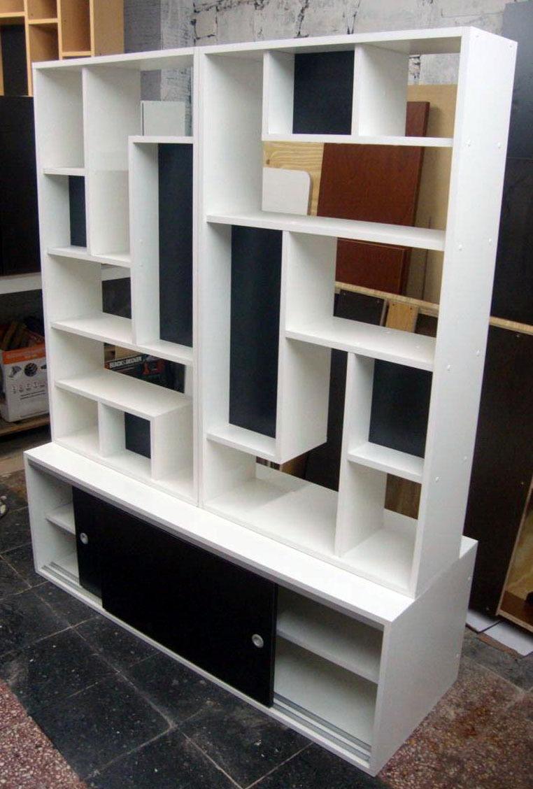Divisor Ambiente Biblioteca Monoambientes Mucho Dise O 18 500  # Muebles Divisorios