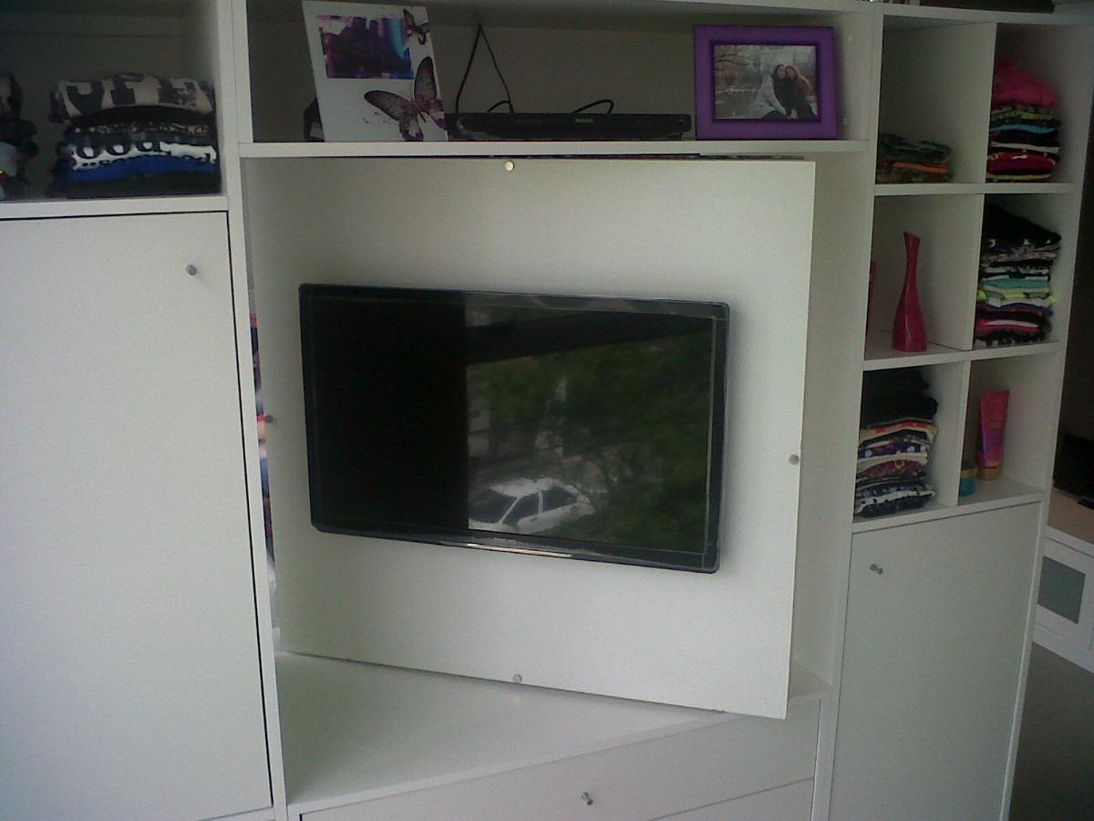 Muebles de tv para dormitorios mueble para tv manhattan muebles para tv centros de mesas para - Mueble giratorio para tv ...