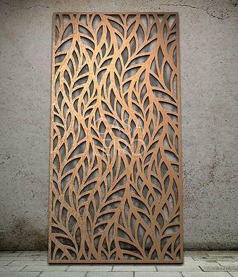 divisor de ambientes paneles calados en mdf - Panel Decorativo Madera