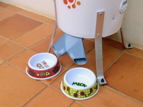 divisor de ração para alimentador automático