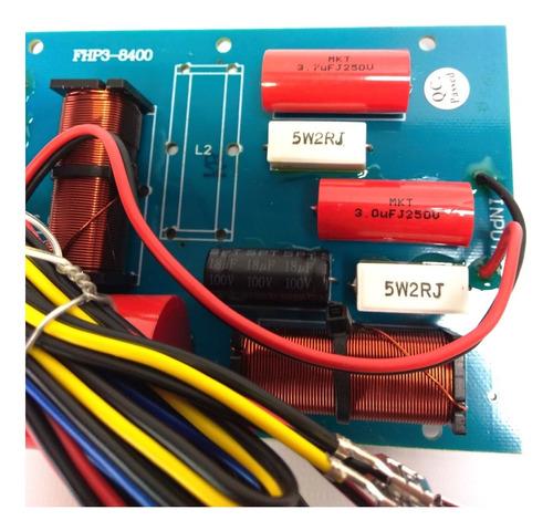 divisor  frecuencia 3 vias 600 watts cr-35 audiosonic