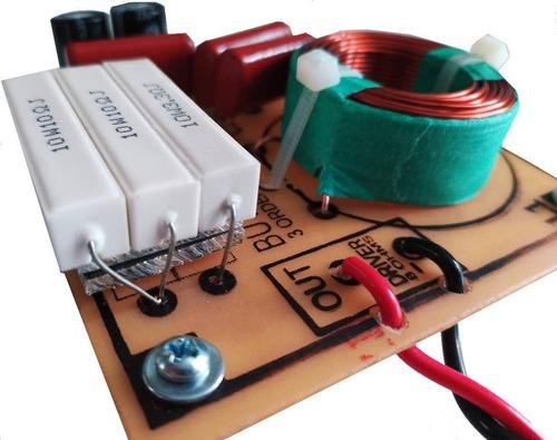 divisor frequencia crossover 1 via driver ti 18 db