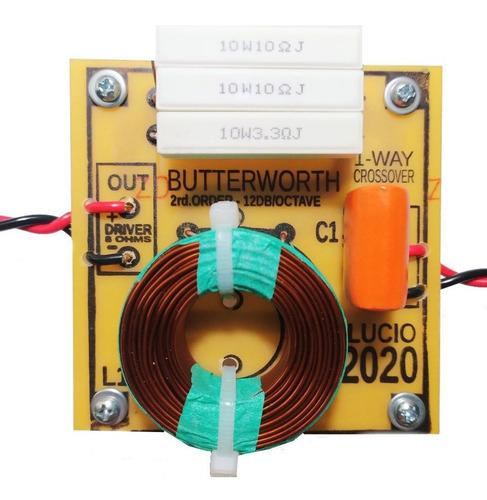 divisor frequencia crossover 1 via driver titanio  12 db