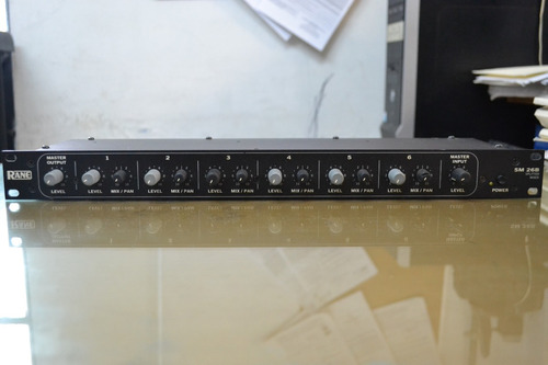 divisor mezclador 6 salidas rane sm26b winners
