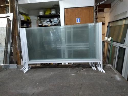 divisor para mostrador de vidrio  80 x 60