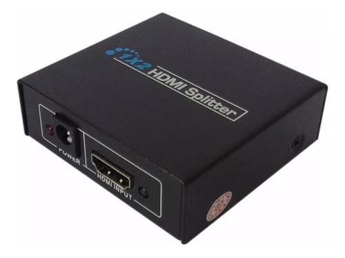 divisor splitter distribuidor 3d hdmi 1 entrada e 2 saidas