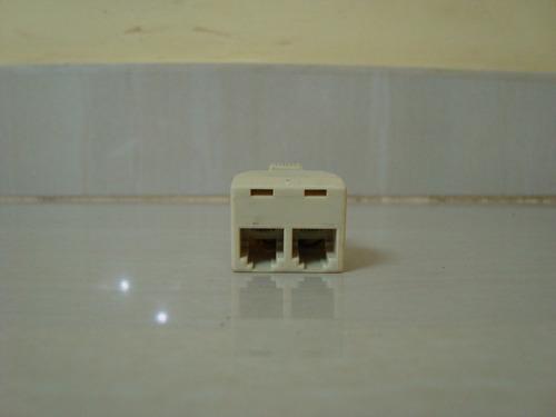 divisor splitter telefonico rj11 2 salidas