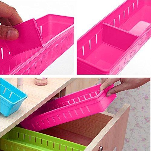 divisores de cajón organizadores caja de almacenamiento orga