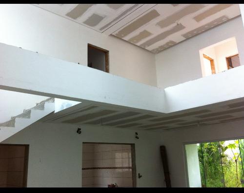 divisórias drywall instalado forro e paredes