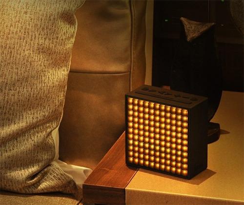 divoom timebox caixa de som bluetooth led programável
