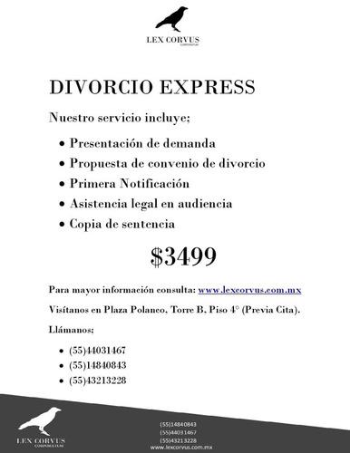 ¡¡¡divorcio express!!!