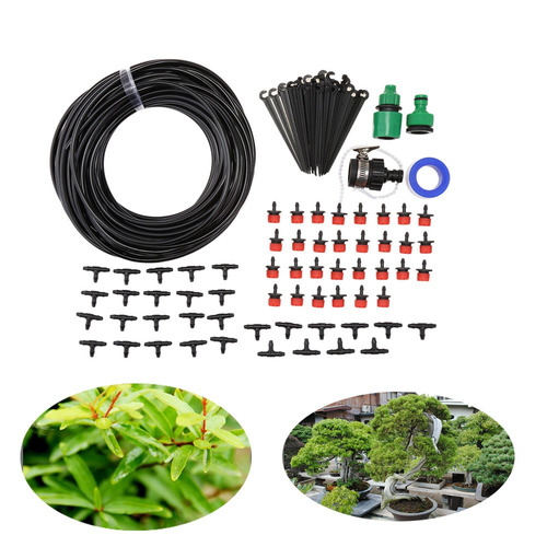 diy 25m micro drip irrigation system agricultura de rociador